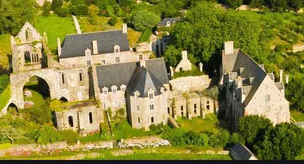 L'Abbaye de Beauport à Paimpol (Côtes d'Armor)