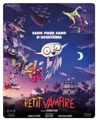 Petit Vampire réalisé par Joan Sfar
