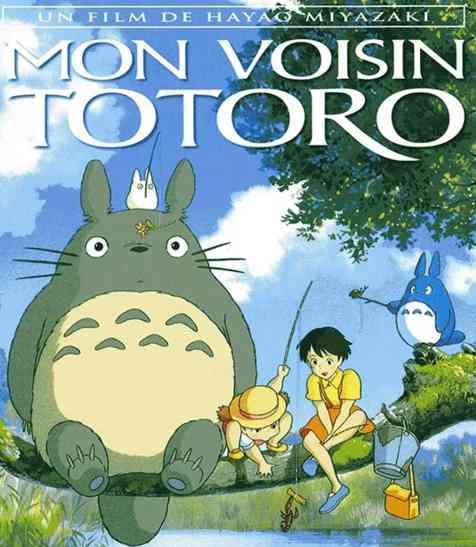 Mon voisin Totoro réalisé par Hayao Miyazaki