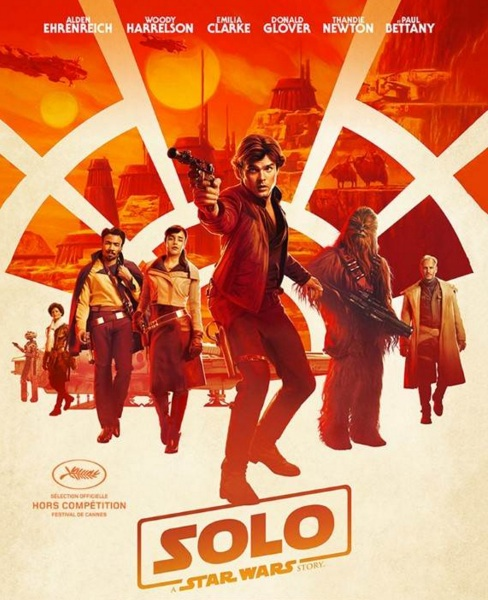 Solo : A Star Wars Story réalisé par Ron Howard
