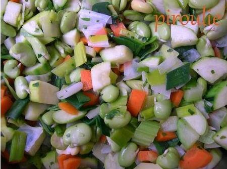 La soupe de fèves fraîches à la coriandre pour Pessah