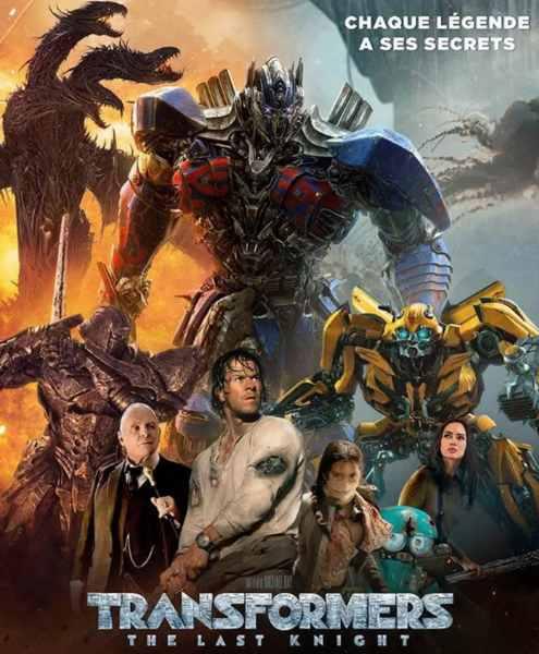 Transformers 5 : The Last Knight réalisé par Michael Bay