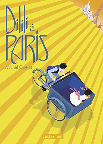 Casterman publie 2 très beaux albums autour de Dilili à Paris réalisé par Michel