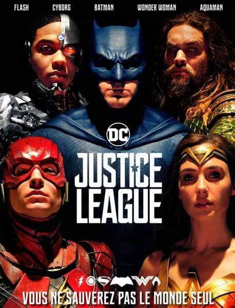 Justice League réalisé par Joss Whedon