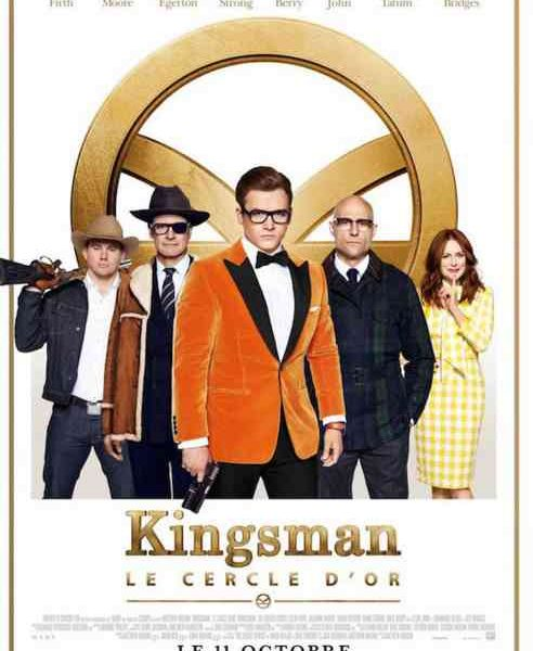 Kingsman : Le Cercle d'or réalisé par Matthew Vaughn