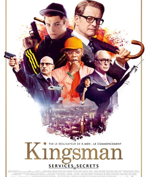 Kingsman : Services secrets réalisé par Matthew Vaughn