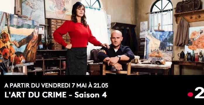 L'Art du Crime – Saison 4 – Épisodes 1 et 2 à 21h05 sur France 2