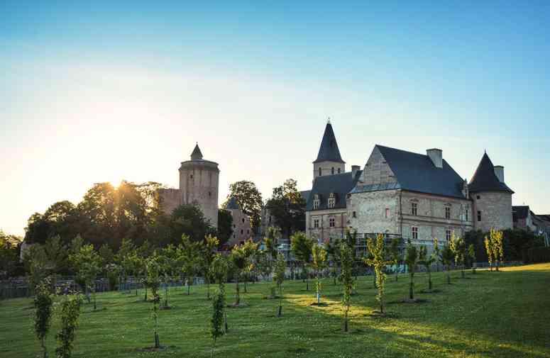 Le château de Bournazel en Aveyron