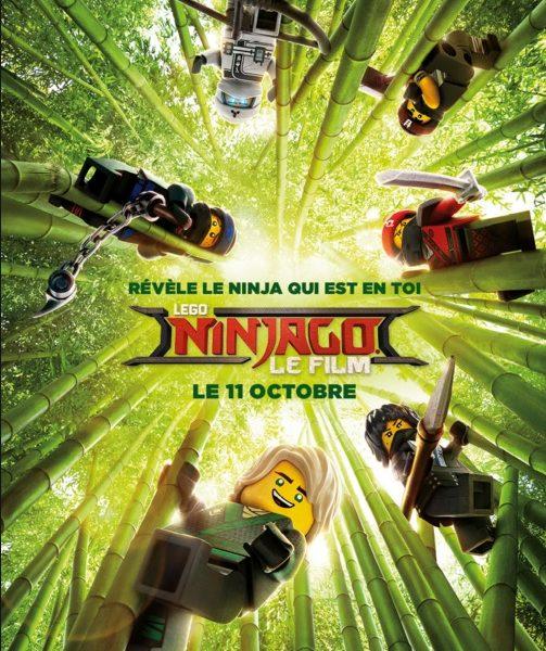 Lego Ninjago, Le Film réalisé par Charlie Bean, Paul Fisher et Bob Logan