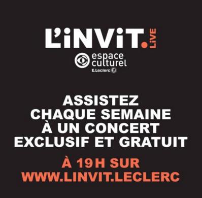 Le Mouvement E.Leclerc propose l'Invit.Live
