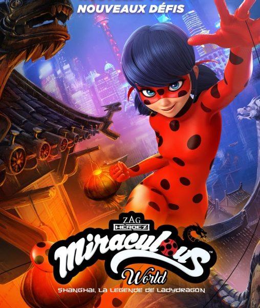 Miraculous World Shanghaï : La Légende de Lady Dragon sur Disney Channel