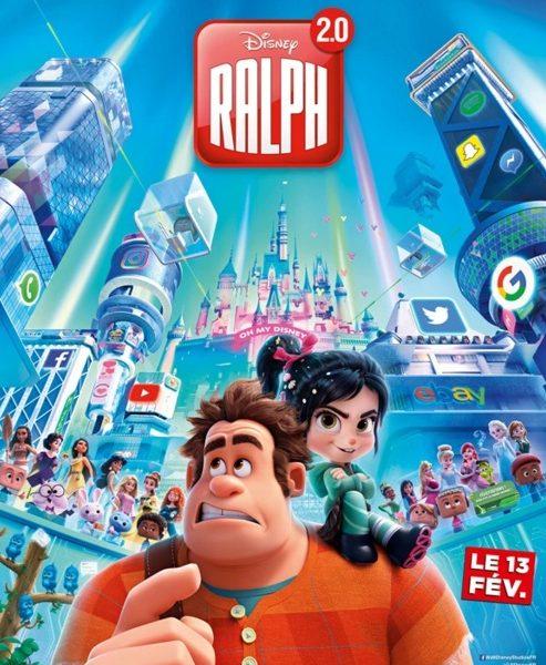 Ralph 2.0 : À la conquête du Web réalisé par Rich Moore et Phil Johnson