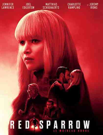 Red Sparrow réalisé par Francis Lawrence