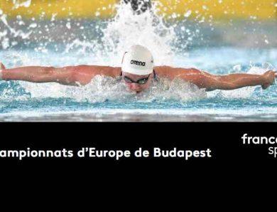 Championnat d'Europe de Natation de Budapest sur France Télévisions