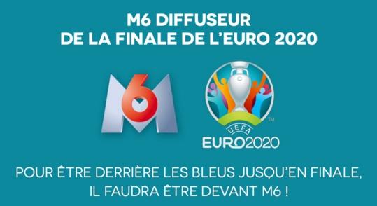Le Championnat d'Europe de football 2020/21 à la télévision