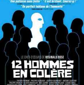 12 hommes en colère au Théâtre Hébertot (Paris)