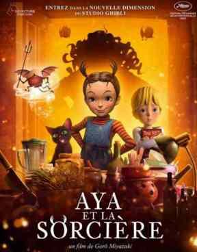 Aya et la Sorcière réalisé par Goro Miyazaki