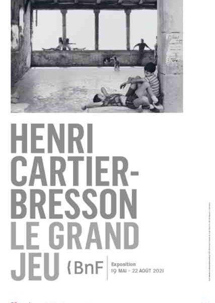 Henri Cartier-Bresson à la BnF, Paris