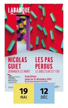 Déranger les murs de Nicolas Guiet et Le Directeur Fou par le collectif Les Pas Perdus, 2 expositions à La Banque de Béthune