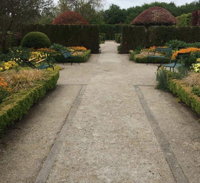 Le Jardin du Musée des Impressionnismes de Giverny, dans l'Eure