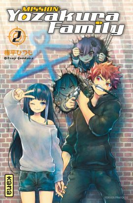 Mission : Yozakura Family – Tome 2 par Hitsuji Gondaira