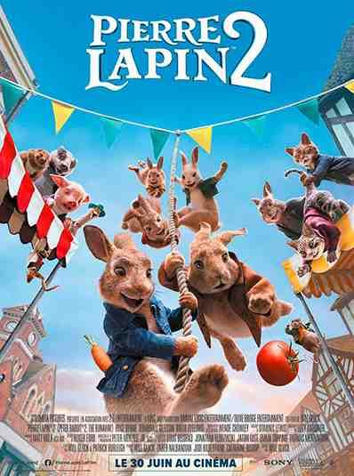 Pierre Lapin 2 : Panique en ville réalisé par Will Gluck