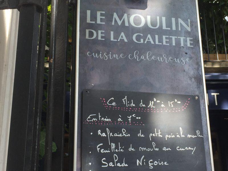 Le Moulin de la Galette à Paris