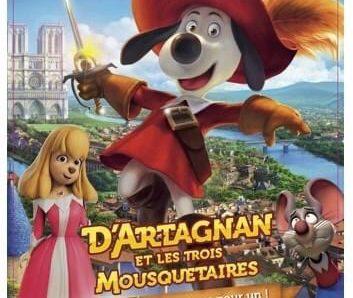 Concours Cinéma – Gagnez 5 x 1 place pour D'Artagnan et les trois mousquetaires