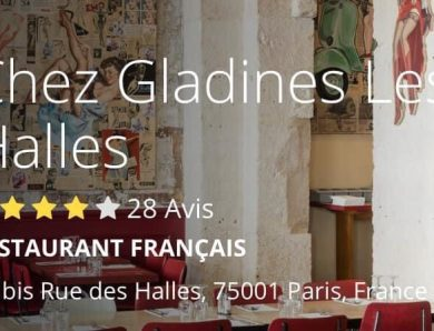 Le brunch de Chez Glandines Les Halles à Paris