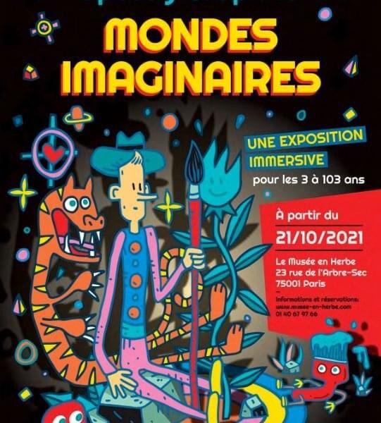 Mondes imaginaires de Speedy Graphito au Musée en Herbe à Paris