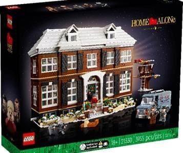 Pour noël 2021, Lego commercialise la maison et les personnages de Maman j'ai raté l'avion