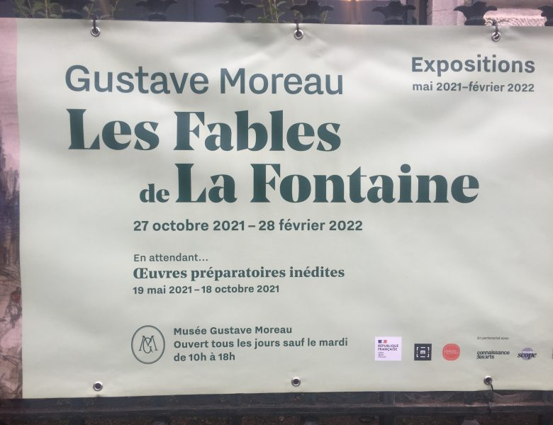 Gustave Moreau : Les Fables de LaFontaine au Musée Gustave Moreau à Paris